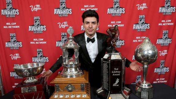 Price a big winner at NHL Awards