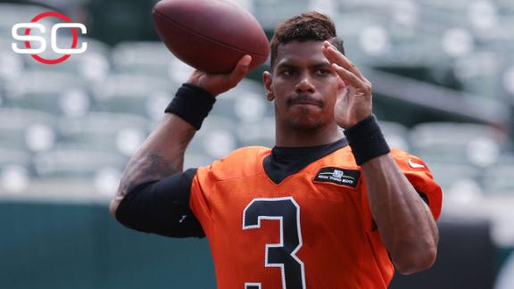 Browns' Terrelle Pryor allowed to scrimmage at Ohio State