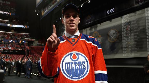 McDavid: 'Couldn't be more proud to be an Oiler'