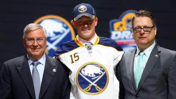 Eichel on getting drafted by Sabres