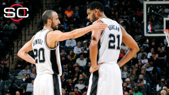 Spurs think they can re-sign Duncan, Ginobili