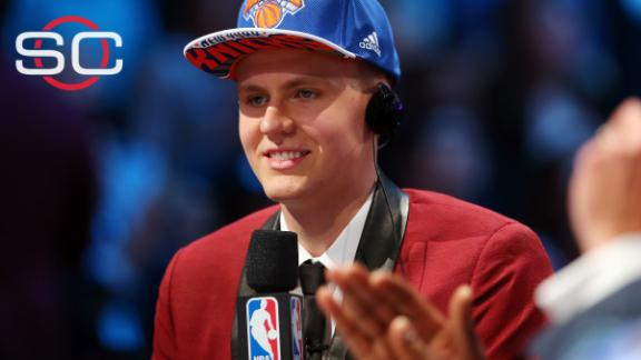 Porzingis' brother: Melo reached out to draftee