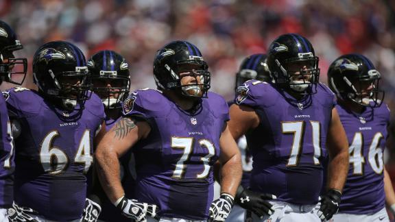Video - Ravens deep on offensive line