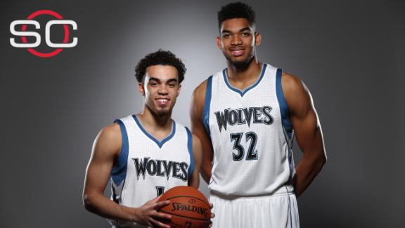 Timberwolves bring back Kevin Garnett, sign Karl-Anthony Towns
