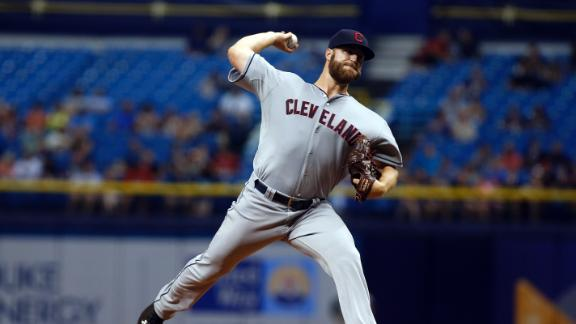 Indians' Cody Anderson perfect for 6S in second MLB start