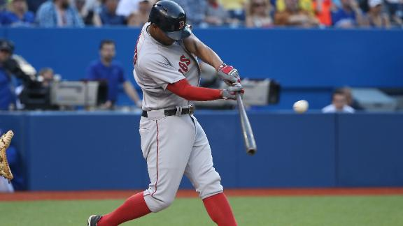 Bogaerts leads Red Sox past Blue Jays