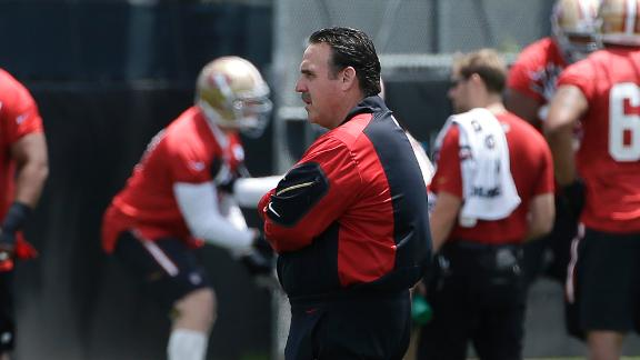 How does the rest of the division regard 49ers coach Jim Tomsula?