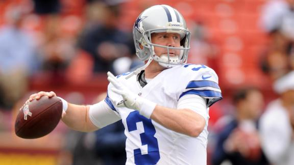 Cowboys sticking it out with backup QB Brandon Weeden