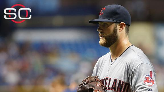 Cody Anderson delivering for Indians