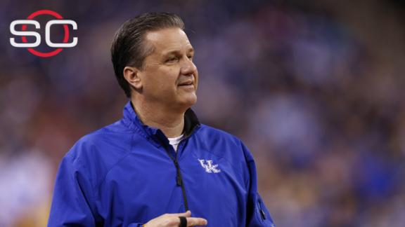 Calipari denies he's leaving Kentucky