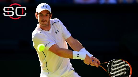 Andy Murray wins in straight sets