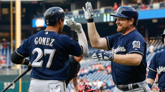 Brewers win fourth straight
