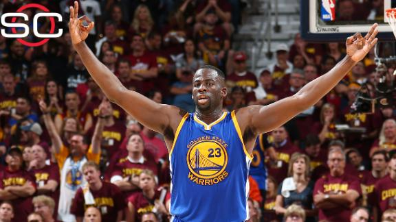 Draymond Green announces he has re-signing with Golden State Warriors