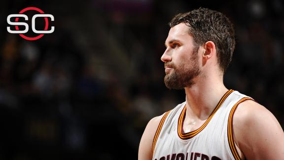 Kevin Love agrees to five-year, $110 million contract to stay with Cavs