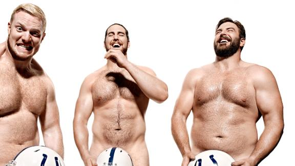 Video - ESPN The Magazine's 2015 Body Issue: Colts Offensive Line