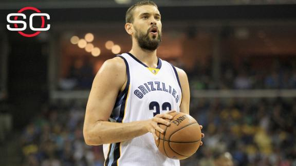 Marc Gasol, Grizzlies nearing five-year deal for $100M-plus