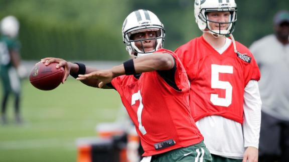 Geno Smith will work with receivers in Chicago