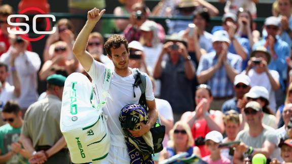 Andy Murray cruises past Robin Haase