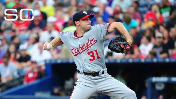 Nationals getting what they wanted from Scherzer