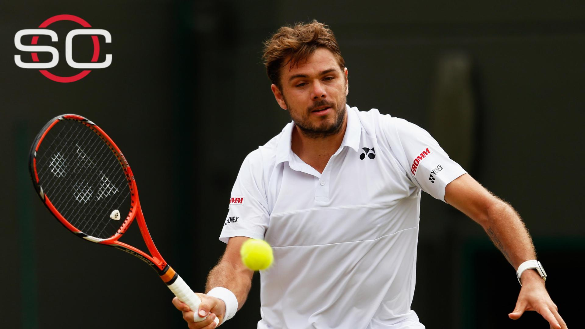 Wawrinka wins in straight sets