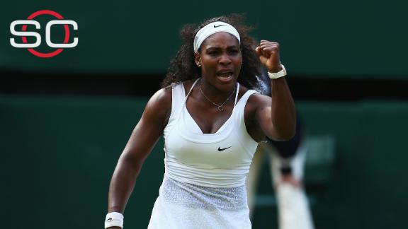 Serena Williams overcomes Heather Watson to keep Slam hopes alive