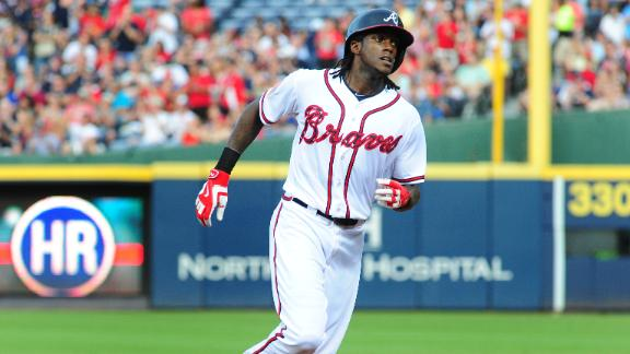 Maybin's big night lifts Braves over the Phillies