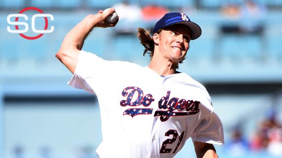 Greinke, Dodgers hold off Mets