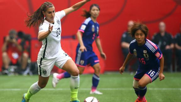 Carli Lloyd adds 50K Twitter followers during final; value of image soars