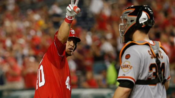 Nationals sweep Giants
