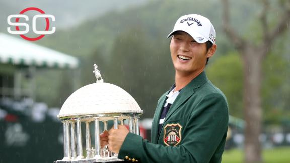 Danny Lee wins Greenbrier Classic in 4-man playoff for first PGA victory
