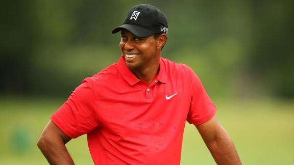 Tiger encouraged by final round at Greenbrier