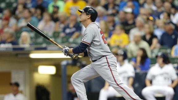 Brewers' eight-game winning streak snapped