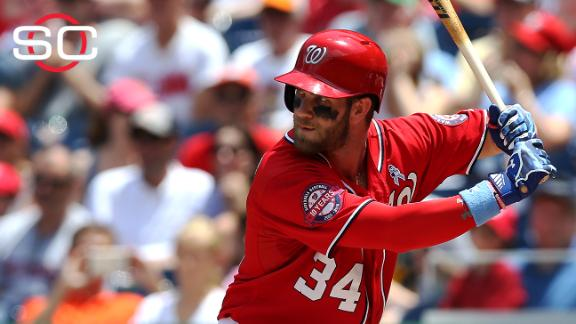 No dad, no derby: Harper passes on HR contest