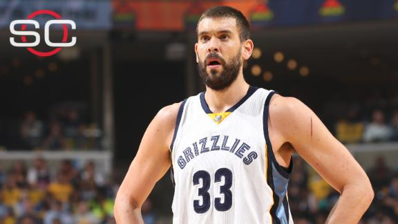 Marc Gasol, Grizzlies agree to max contract