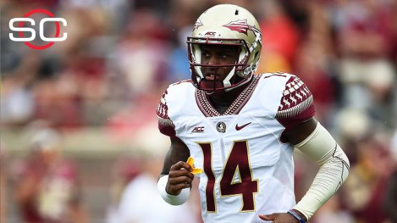 Video shows FSU QB Johnson striking woman