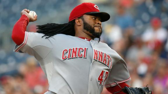 Cueto outduels Scherzer in shutout of Nationals