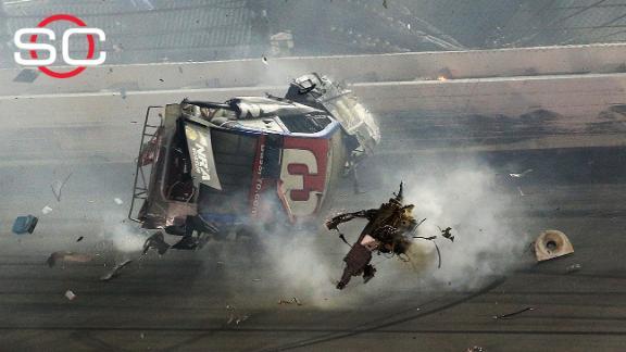 Austin Dillon: It was a wild wreck