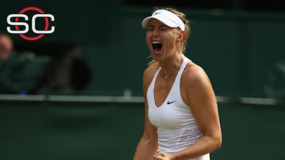 Sharapova outlasts Vandeweghe