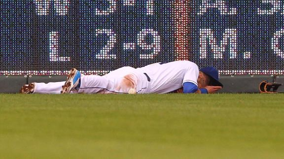 Gordon's injury a big blow to Royals