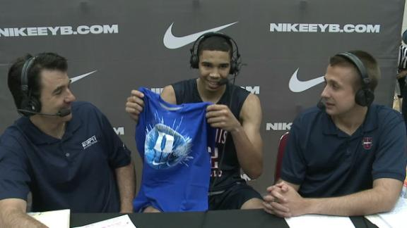 Duke lands 2nd-ranked hoops recruit Tatum