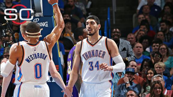 Enes Kanter staying in Oklahoma City
