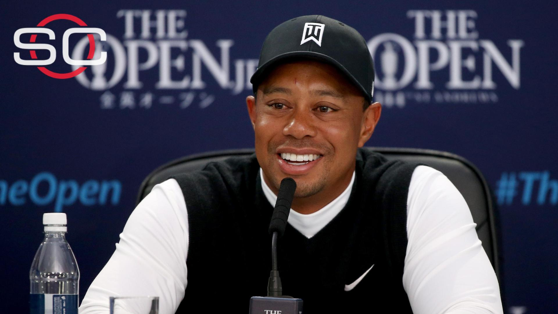 Tiger entering The Open with confidence