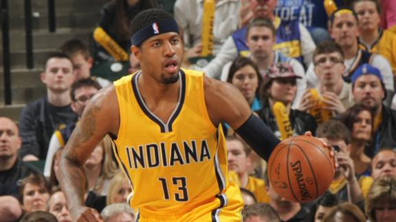 Pacers looking for George to play power forward