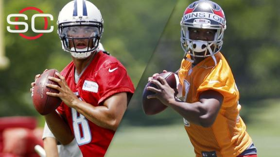 Video - Better rookie season: Winston or Mariota?