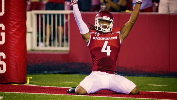 Hatcher and Arkansas ready to take the next step