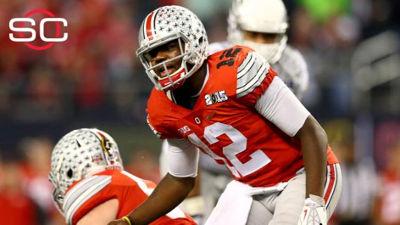 Ohio State QB lashes out at fan on Twitter