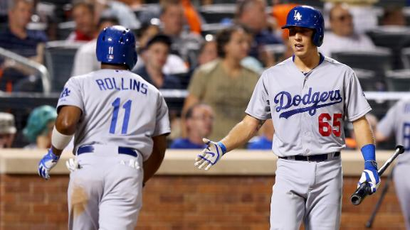 Dodgers crush Mets