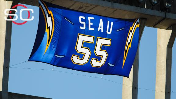 Seau's family not allowed to speak at HOF induction