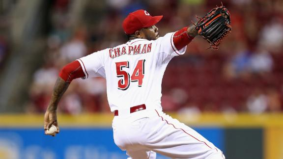 Aroldis Chapman on the move, too?