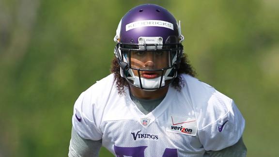 Video - Vikings not pushing rookies early